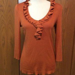 St. John SoCa Rust Sweater Sz-M